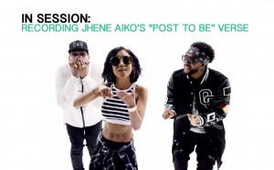 """In Session: Recording Jhene Aiko's """"Post to Be"""" Verse"""